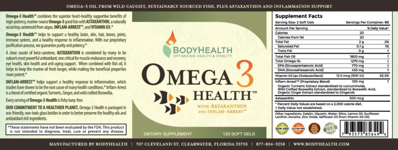 OMEGA 3 with Inflammarrest & Astaxanthin